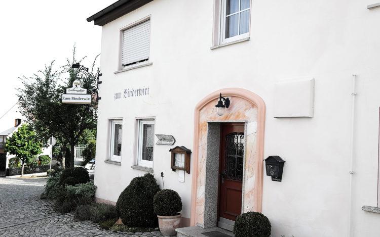 Binderwirt Burgau Hausfront
